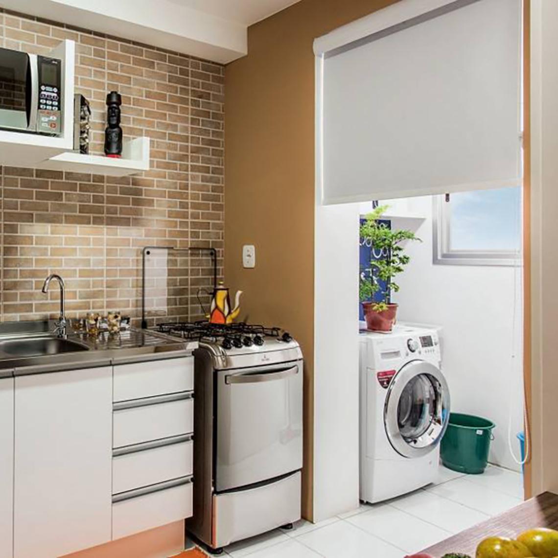 Divisoria De Vidro Entre Cozinha E Area De Servio Os Inclusive A